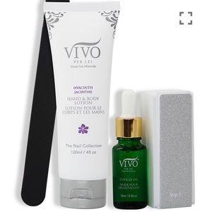New Vivo luxury Hyacinth Exquisite Manicure set